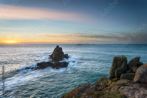 Lands End in Cornwalll