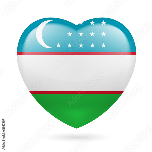 Heart icon of Uzbekistan