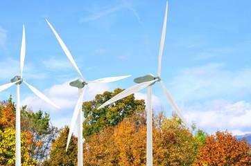 Windkraftanlage - aerodynamik design - 3D Render