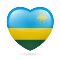 Heart icon of  Rwanda