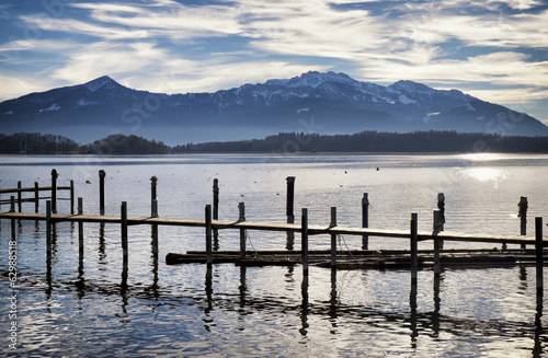 old wooden jetty - 62988518