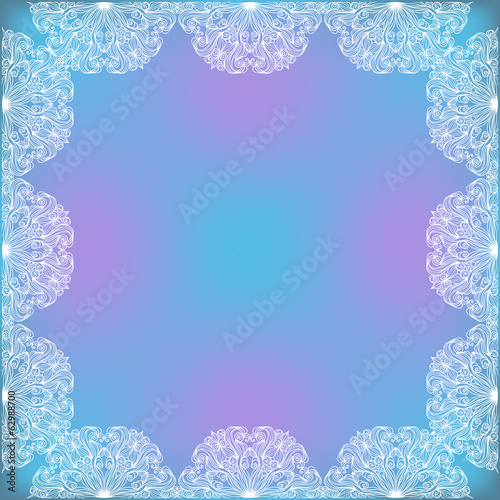 Decorative Lacy Frame