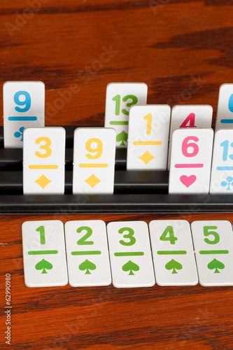 card rack in rummy card game