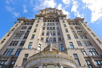 Liverpool, UK - Royal Liver Building