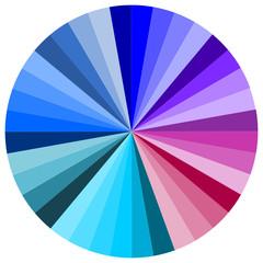 Farbkreis blau  #140324-svg05