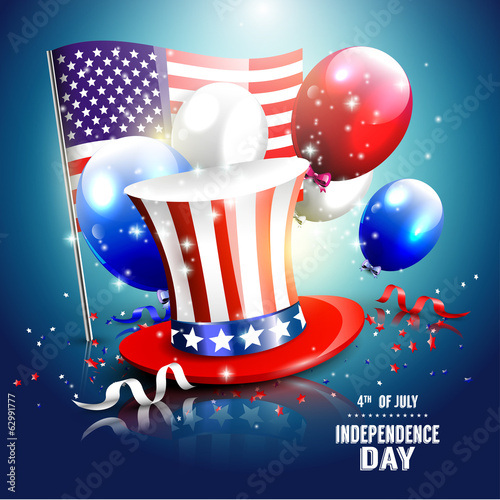 Independence day - luxury vector background