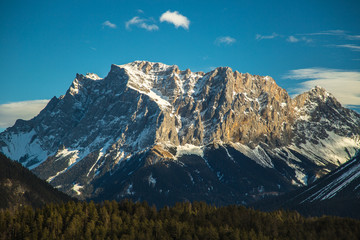 Berge Wald Zugspitze