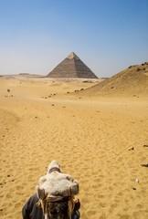 en route vers la pyramide