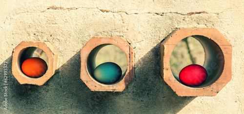 Eggs in holes