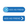 Add as friend - social site button