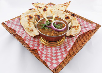 chick peas with naan