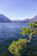 Lecco Lake springtime view color image