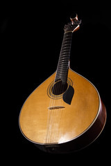 traditional Portuguese guitar