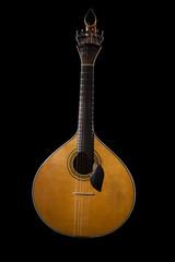 traditional Portuguese guitar