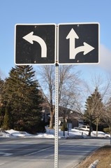 Arrow signs