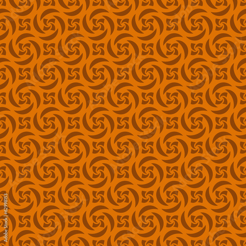 Orange Colors pinwheel Pattern. Korean traditional Pattern Desig