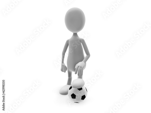 Man and ball
