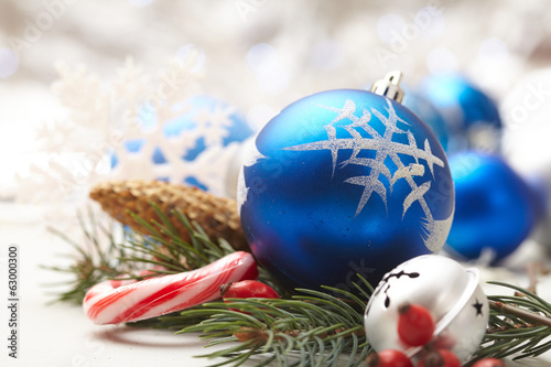 canvas print picture Christmas decoration
