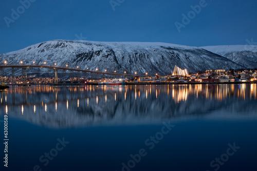 Panoramic view on Tromso, Norway - 63000589