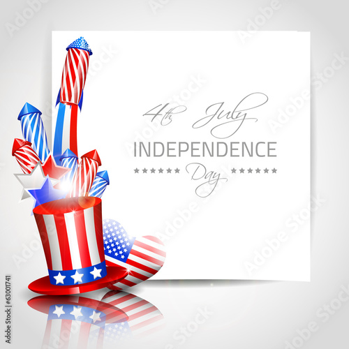 Independence Day Background - Vector