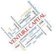 Venture Capital Word Cloud Concept Angled