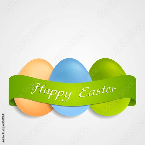Easter egg vector background