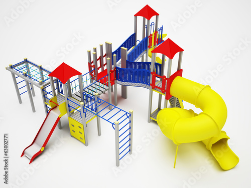 Colorful playground for children