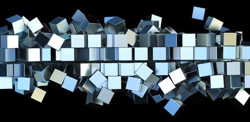 Metal squares