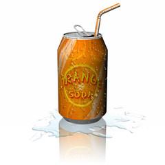 Drink Lattina Orange