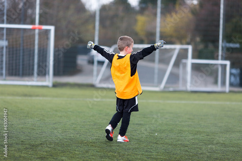 Young goalie