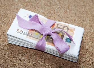 liasse de billet 50 euros