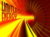 Limitless energy flow inside of cable poster