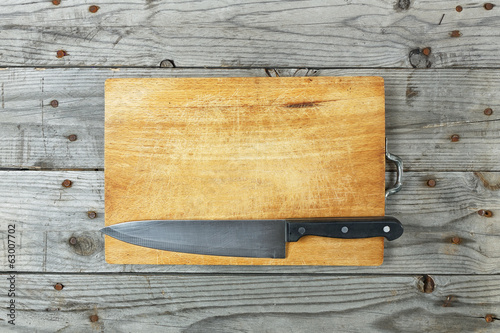 cutting board knife grunge