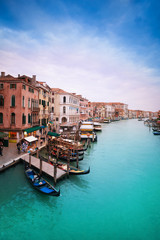 Central streets of Venice