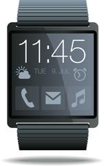 Smartwatch grau