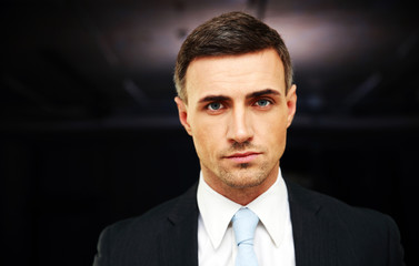 Portrait of a confident businessman at office