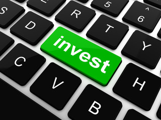 Hot keyboard key for investment - invest key on keyboard keys