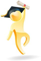 Graduation person