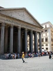 façade du panthéon rome