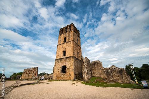 Fotobehang Centraal-Amerika Landen Ruins of Old Panama
