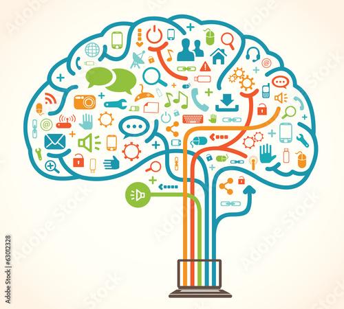 Network brain - 63012328