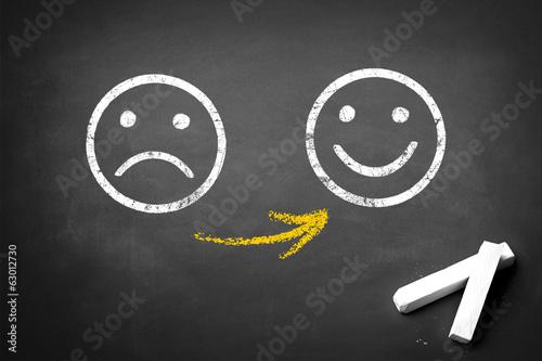 Malheureuse - Happy Poster