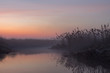 fog on the river - 63013190