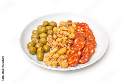 Plate of Spanish Tapas