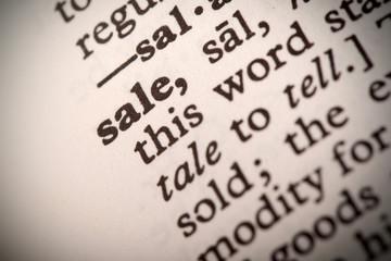 Sale Definition