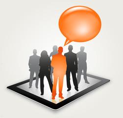 Concetto Business, Affari, Internet
