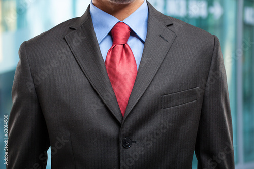 Businessman's suit