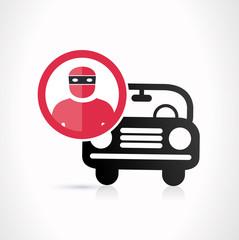vol de voiture - auto volée