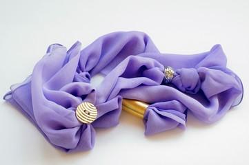 Foulard con fiori