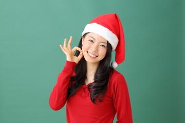クリスマス・女性